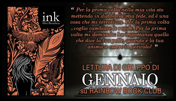 Rainbow Book Club | Ink - Seconda Tappa